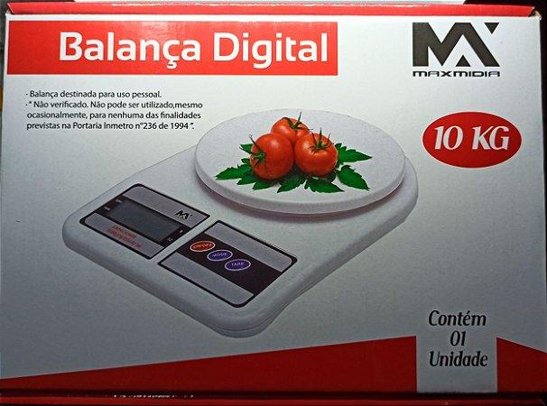 BALANÇA DIGITAL MAXMIDIA 10KG