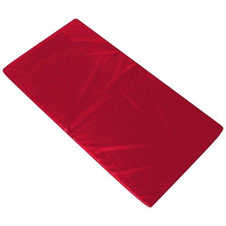 Colchonete Ginástica, Academia E Yoga - 100 X 60 X 3 cm Orthovida - Vermelho
