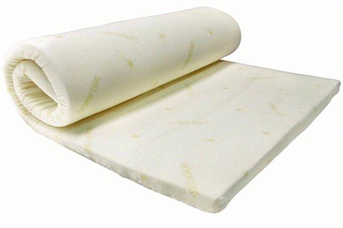 Colchonete Casal 188x138x8cm  Com Espuma D20 Tecido Liso Orthovida