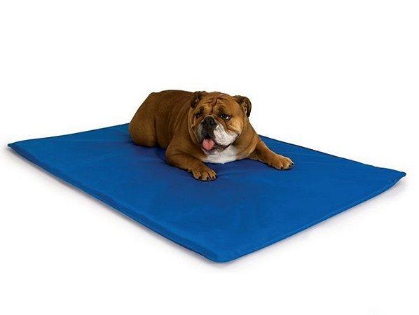Colchonete Para Pet - Impermeável - Cama Para Cães E Gatos Pequenos 70x60cm Orthovida