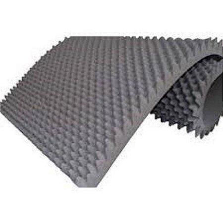 Colchão espuma Caixa de Ovo D28 Piramidal  1,88 X 0,78 X 0,04  cm  Orthovida