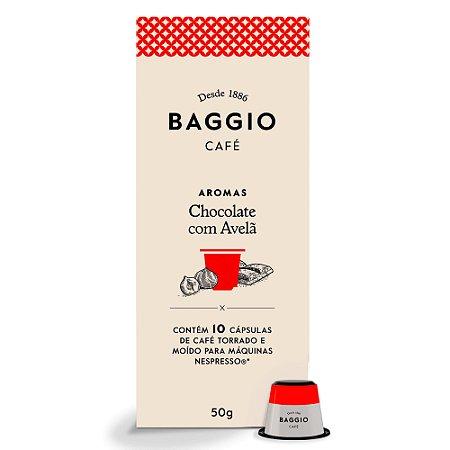 Café Baggio Gourmet Aroma Chocolate com Avelã em Cápsulas 10 unidades