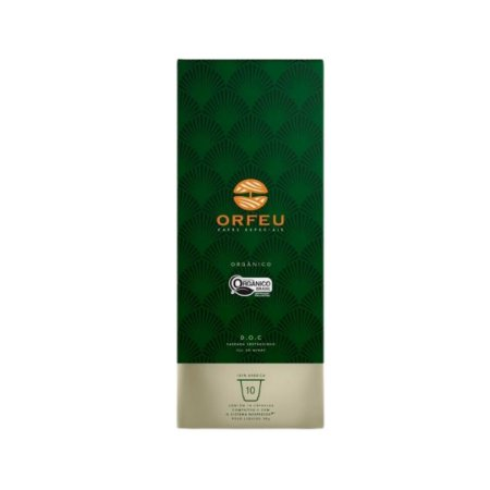 Café Especial Orfeu Orgânico 10 Cápsulas