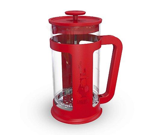 Cafeteira Bialetti Prensa Francesa Smart 1 litro em Abs e Vidro