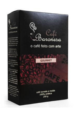 Café Baronesa Gourmet Torrado e Moído 250g