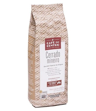 Café do Centro Cerrado Mineiro Gourmet Torrado em Grãos 250g