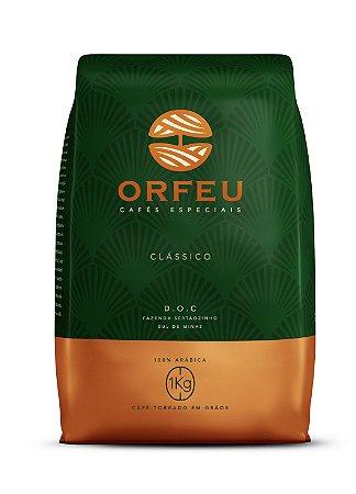 Café Especial Orfeu Clássico Torrado em Grãos 1kg