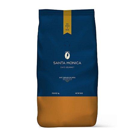 Café Santa Monica Gourmet Torrado em Grãos 1kg