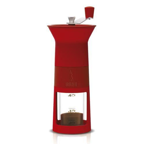 Moedor de Café Manual Bialleti Vermelho