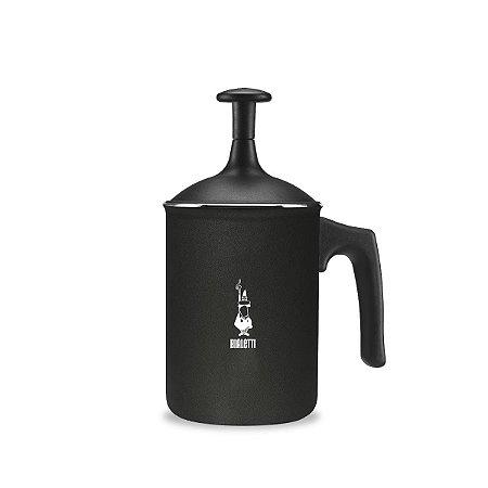 Cremeira Bialetti Tuttocrema Preta em Alumínio 1 litro