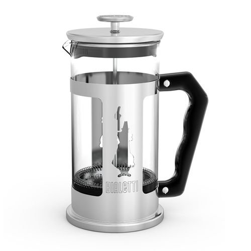 Cafeteira Bialetti Prensa Francesa Preziosa em Inox e Vidro 1 litro