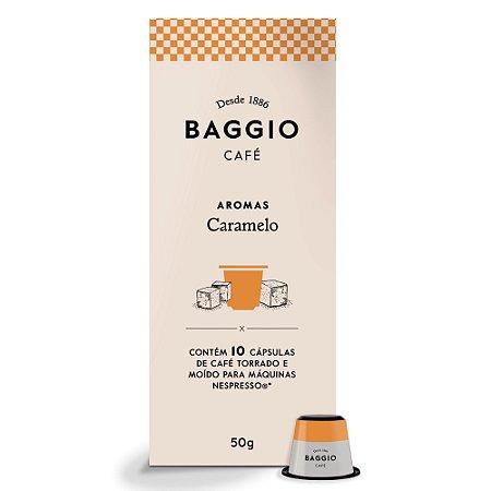 Café Baggio Gourmet Aroma Caramelo em Cápsulas 10 unidades