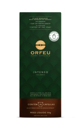 Café Especial Orfeu Intenso 10 Cápsulas