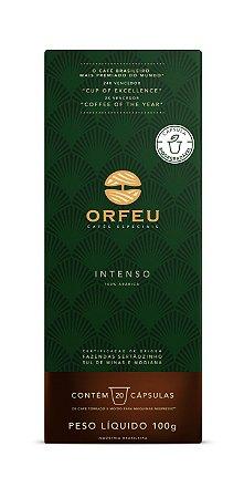 Café Especial Orfeu Intenso 20 Cápsulas