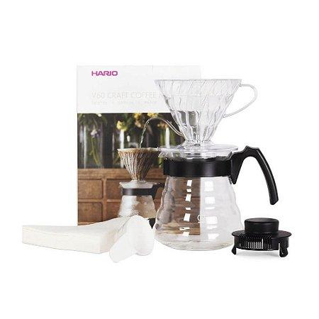Kit Hario V60 Para Preparo De Café