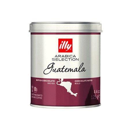 Café Illy Gourmet Selection Guatemala Torrado e Moído 125g