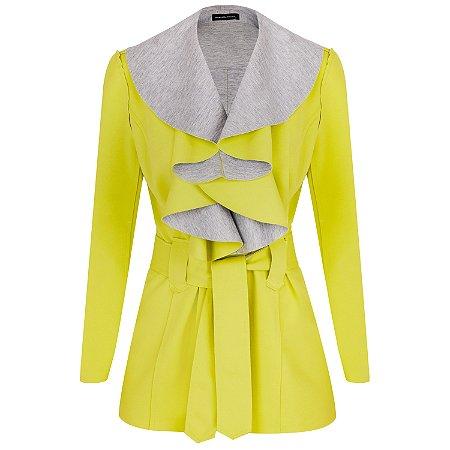 Trench Coat Megan Verde Lima