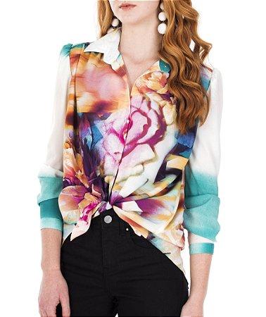 Camisa Marina Floral