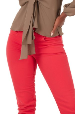 Jeans Color Red