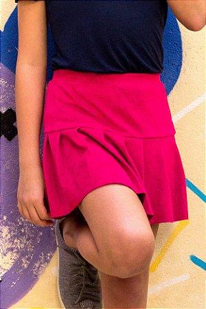 Shorts Saia Pregas Pink