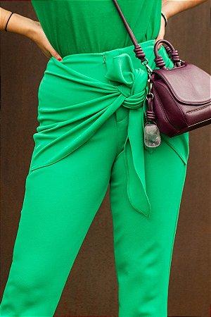 Calça Laço Verde