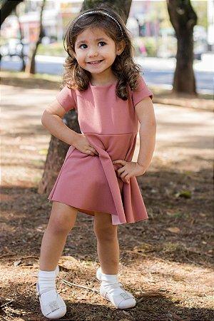 Vestido Malu Rosa