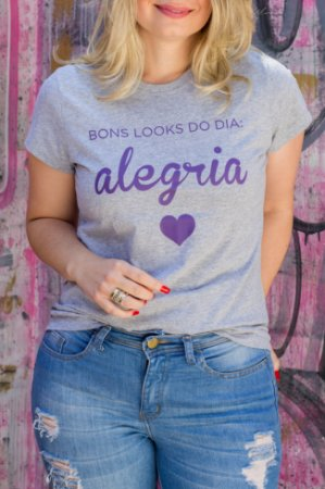 T-Shirt Alegria