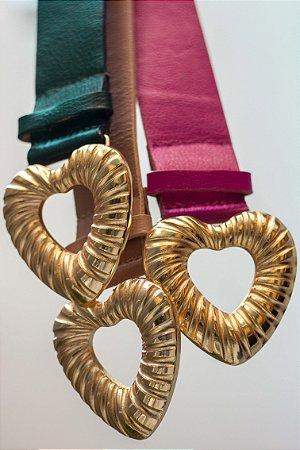 Cinto Gold Heart