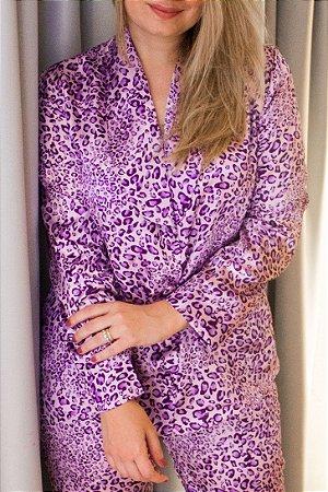 Conjunto Pijama Onça