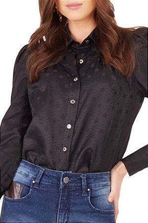 Camisa Simone Black