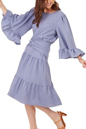 Blusa Alícia Azul