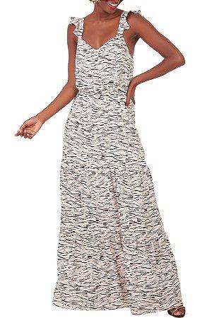 Vestido Íris Zebra