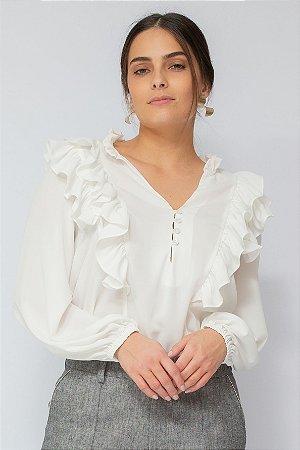 Camisa Mônica Branca