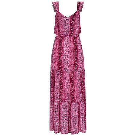 Vestido Íris Onça Rosa