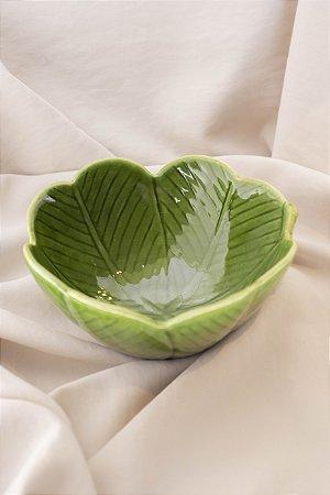 Bowl Banana Leaf de Cerâmica