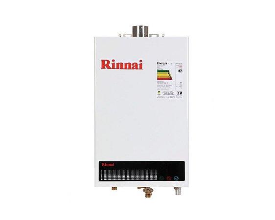 Aquecedor a Gás Rinnai REU-1002FEHGN - 12 litros