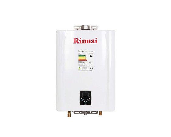 Aquecedor a Gás Rinnai REU-E171FEHBGLP - 17 litros