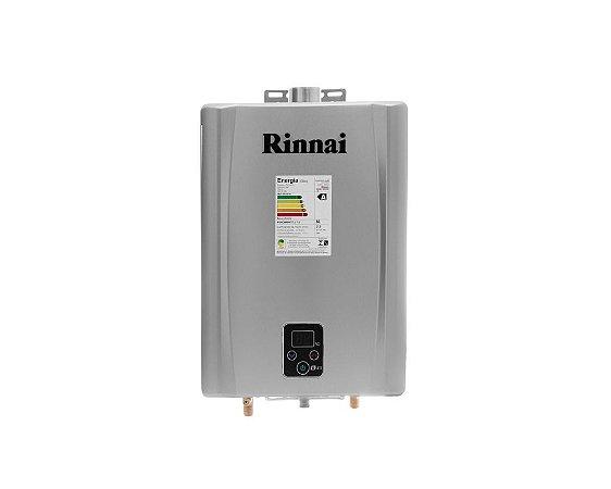 Aquecedor a Gás Rinnai REU-E211FEHGGLP - 21 litros