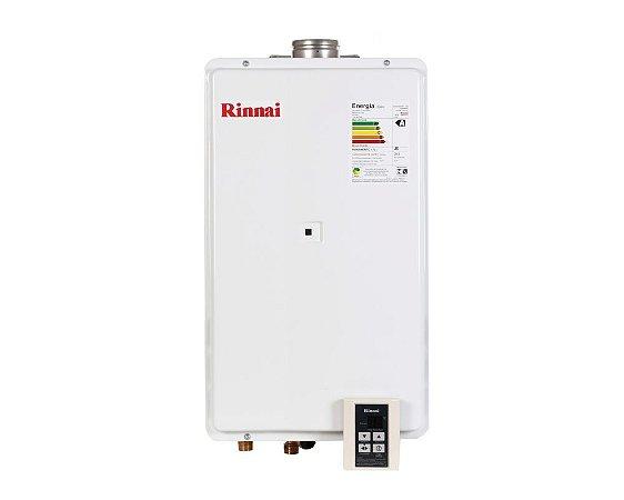 Aquecedor a Gás Rinnai REU-2802FECGLP - 35,5 litros