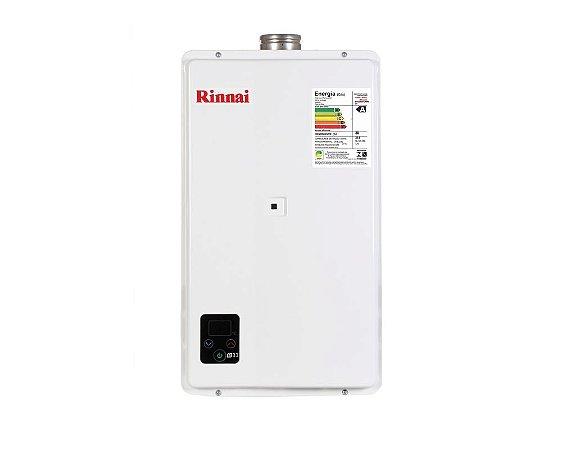 Aquecedor a Gás Rinnai REU-E331FEHB-GN - 32,5 litros