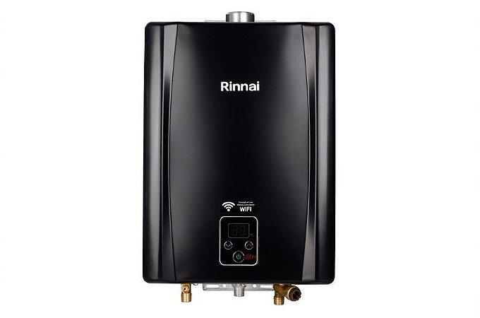 Aquecedor a Gás Rinnai E21 GN BLACK - 21 litros