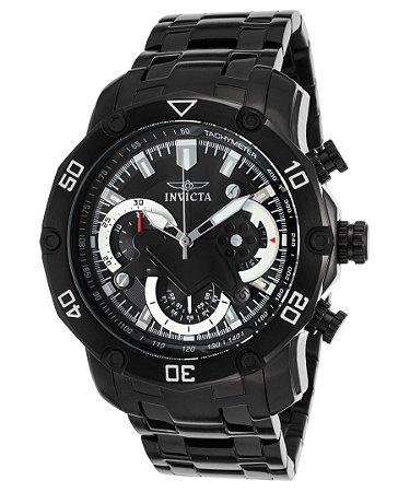Relógio Invicta Pro Diver 22763 Cronografo Aço Inox Preto / Black 50mm