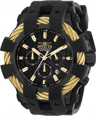 Relógio Invicta Bolt Sport 23866 Cronografo 48mm Banhado Ouro 18k
