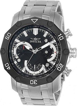 Relógio Invicta Pro Diver 22760 Aço Inoxidável 50mm Cronografo W/R 100m