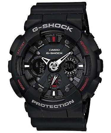 Relógio Casio G-Shock GA-120-1ADR Resina Masculino Digital / Analógico W/R 200m