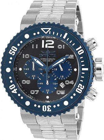 Relógio Invicta Pro Diver 25074 Aço Inoxidável 52mm Cronografo VD53