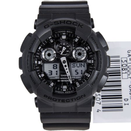 Relógio Casio G-Shock GA-100CF-8ADR Resina Camuflado Masculino Digital / Analógico
