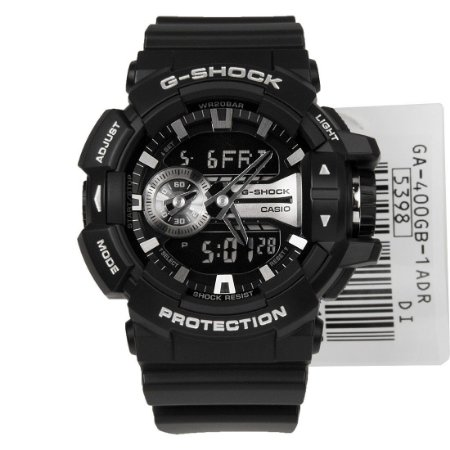 Relógio Casio G-Shock GA-400GB-1A Resina Masculino Digital / Analógico W/R 200m