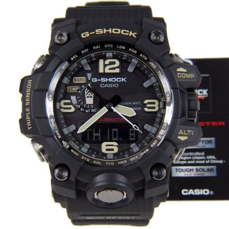 Relógio Casio G-Shock Mudmaster GWG-1000-1A Masculino Digital / Analógico