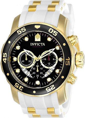 Relógio Invicta Pro Diver 20289 Cronografo 48mm Banhado Ouro 18k